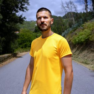 Camisola de treino PEBA Amarela